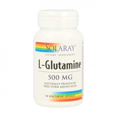 L-GLUTAMINA 500 MG SOLARAY...