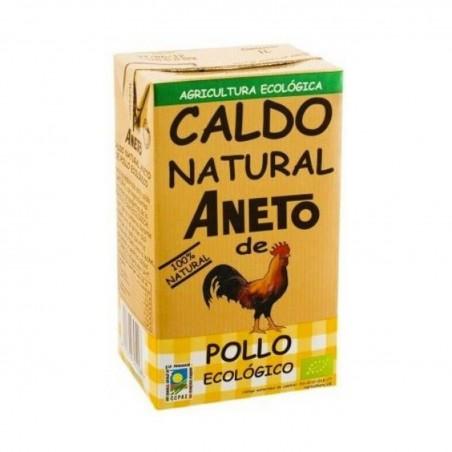 CALDO DE POLLO ECO ANETO (1 L)