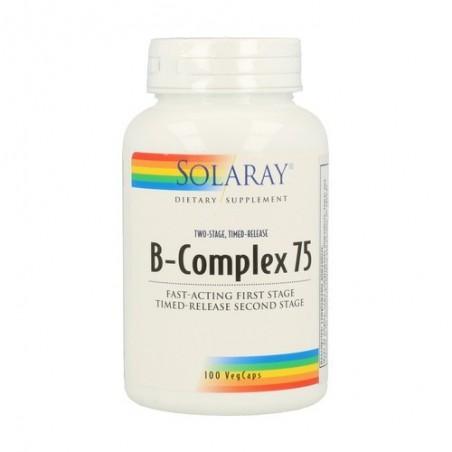 B COMPLEX 75 RETARD SOLARAY...