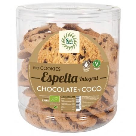 COOKIES ESPELTA COCO CHOCO...