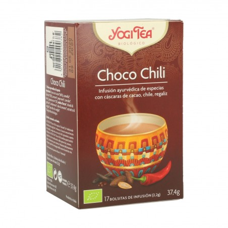 YOGI TEA CHOCO CHILI 17...