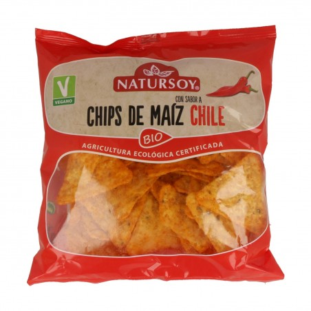 CHIPS MAIZ CON CHILI...