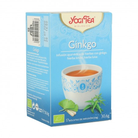 YOGI TEA GINKGO 17 BOLSITAS...