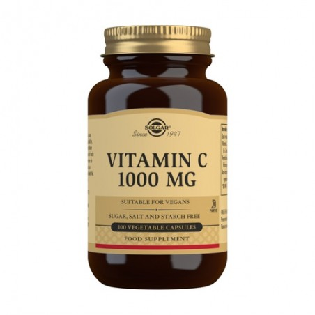 VITAMINA C 1000MG SOLGAR...