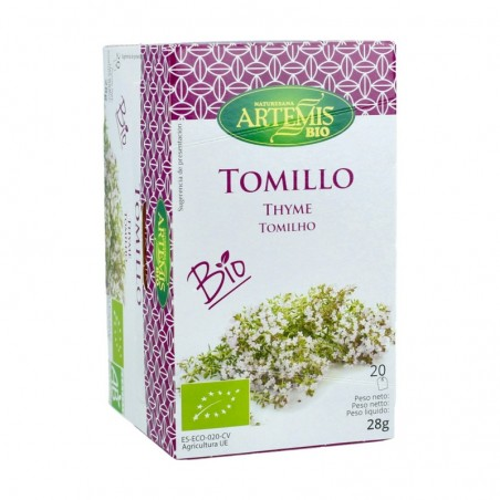 TOMILLO BIO 20X1,4GR ARTEMIS