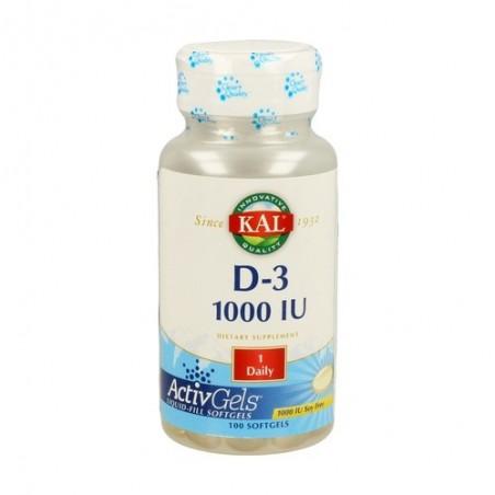 VITAMINA D3 1000IU 100PER KAL