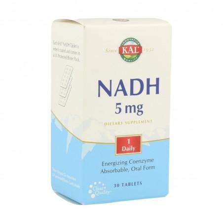 NADH 5 MG KAL (30 TABLETAS)