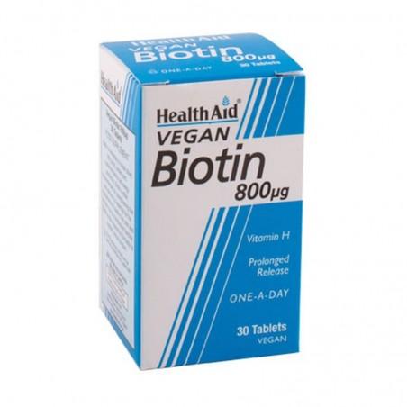BIOTINA 800MCG 30COM HEALTH...