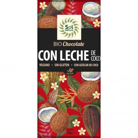 CHOCOLATE LECHE COCO BIO...