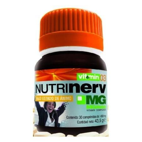NUTRINERV (30 COMP) MGDOSE