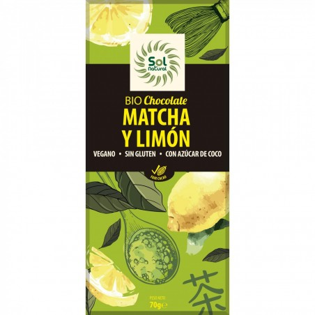 CHOCOLATE MATCHA LIMON BIO...