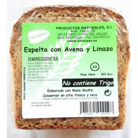 PAN ESPELTA AVENA Y LINAZA...
