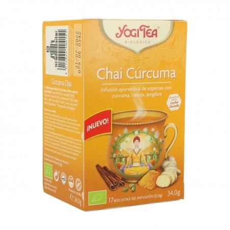 YOGI TEA CHAI CURCUMA (34 GR)