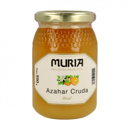 MIEL AZAHAR CRUDA MURIA...