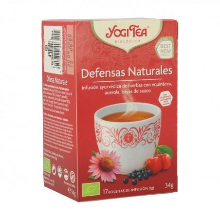 YOGI TEA DEFENSAS NATURALES...
