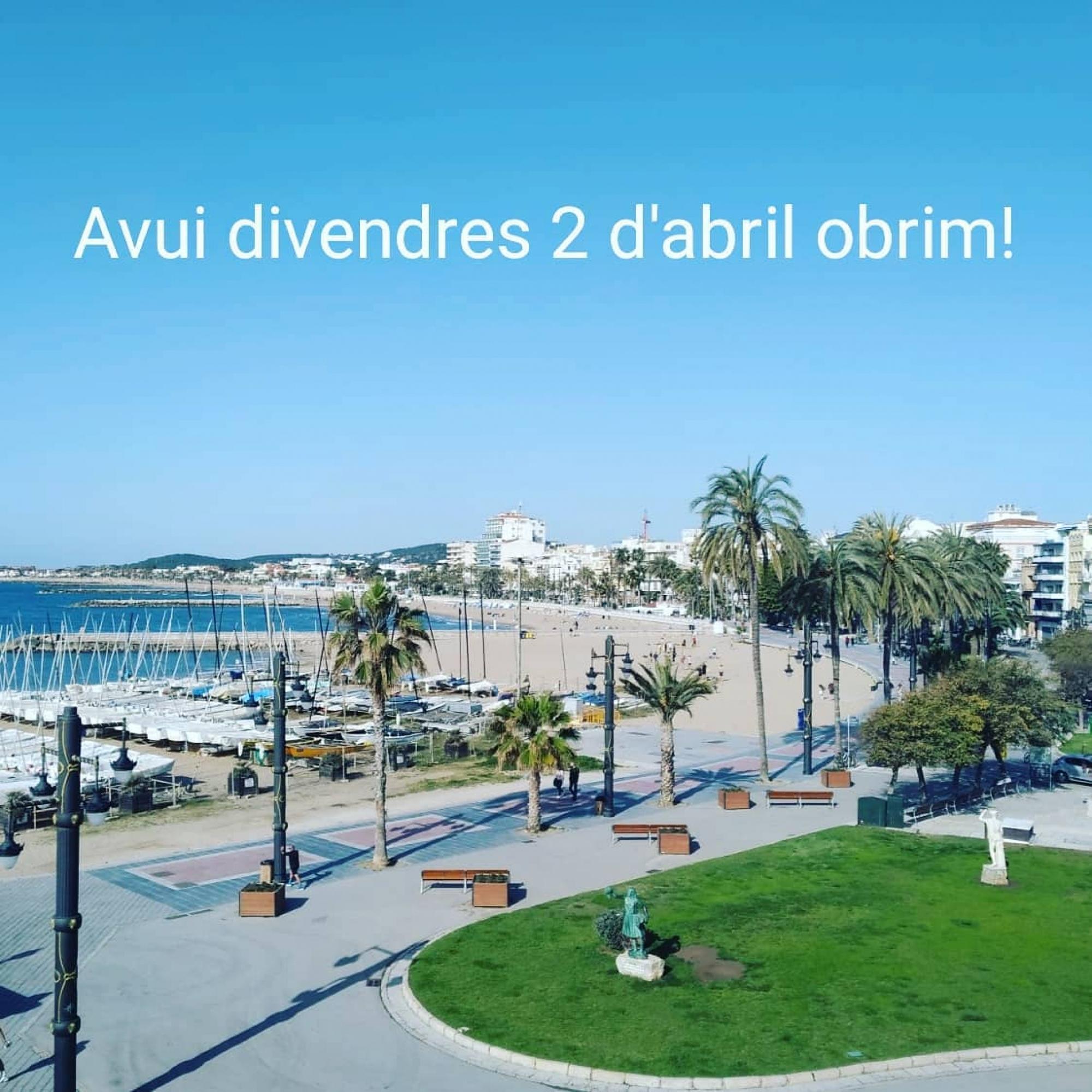 Bon dia Sitges! Un dia espectacular per gaudir de la nostra vila.  #sitges #sitgesverd